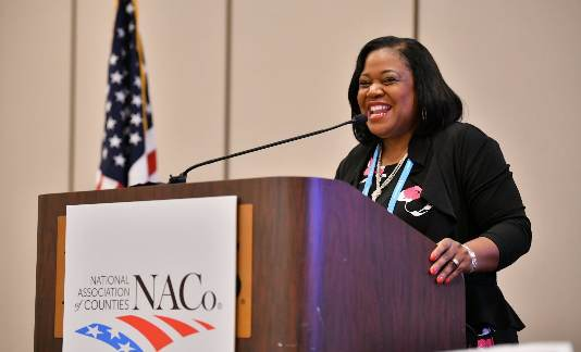 Commission Chair Alisha Bell chosen for National Association of Counties leadership position