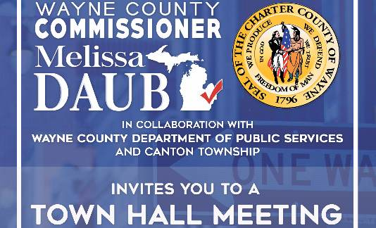 Commissioner Melissa Daub to hold town hall meeting on road issues