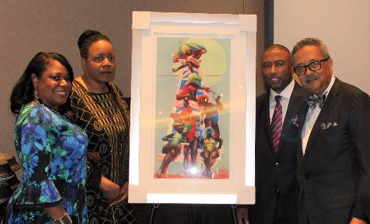 Wayne County Commissioner Jewel Ware honored during NOBCO forum