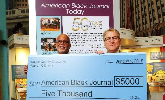 Congratulations to American Black Journal for 50 years of Community Service