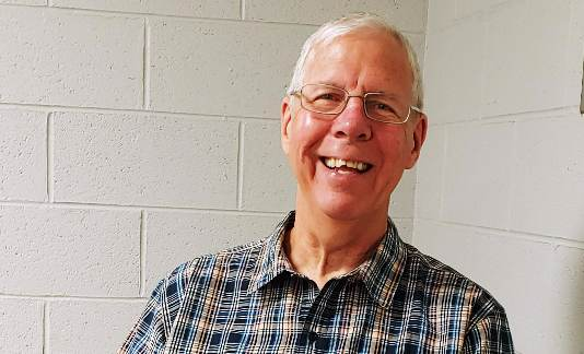 Volunteer of the Month: Bruce Pease