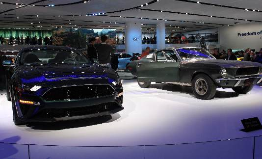 Wayne County vehicles shine at 2018 North American International Auto Show