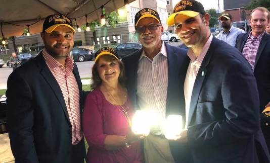 Clark Park hosts special ceremony to celebrate new park lighting