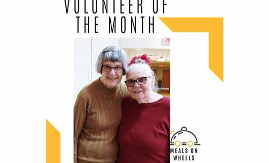 Betty Flayer: February's Meals on Wheels Volunteer of the Month