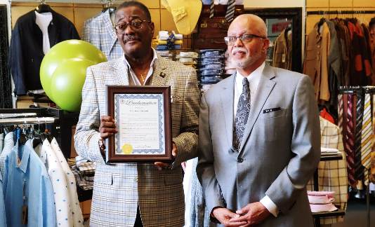 Hot Sam's Detroit receives Wayne County Executive Proclamation