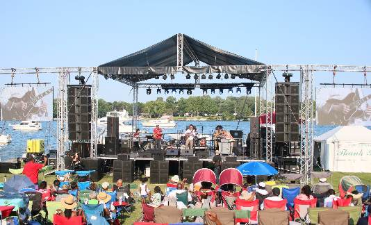 Wayne County's Jazz on the River Music Festival Promotes Strong Local Musical Heritage