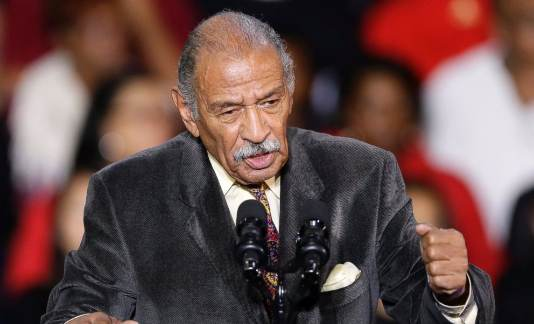 Wayne County Executive Warren C. Evans issues proclamation honoring the memory of John Conyers Jr.