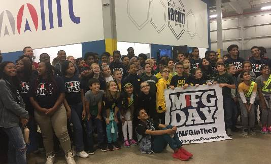 MFG Day in Wayne County is October 5, 2018