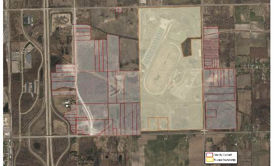 Wayne County taking proactive steps to market Pinnacle Race Track site, should foreclosure occur