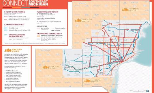 WAYNE COUNTY EXECUTIVE WARREN C. EVANS PRESENTS NEW TRANSIT PLAN: SEE THE FULL PLAN