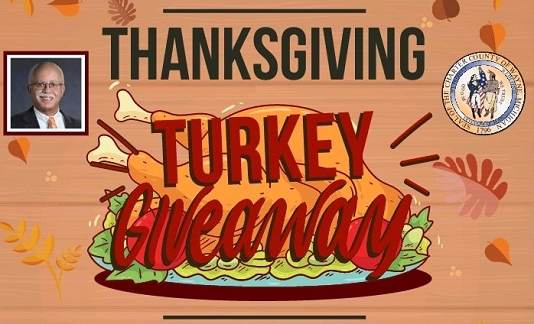 Countywide Annual Thanksgiving Turkey Giveaway