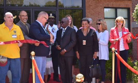 Treasurer Sabree Attends the Grand Opening for the City Event Centre in Romulus