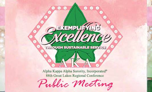Treasurer Sabree will be honored as a Community Superstar by Alpha Kappa Alpha Sorority