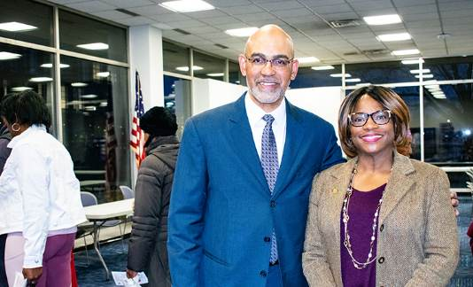 Treasurer Sabree attends Wayne County Commissioner Monique Baker McCormick Community Forum