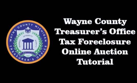 WCTO Tax Foreclosure Online Auction Tutorial