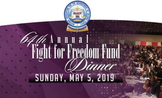 Treasurer Sabree attends the NAACP 64th Annual Fight for Freedom Fund Dinner