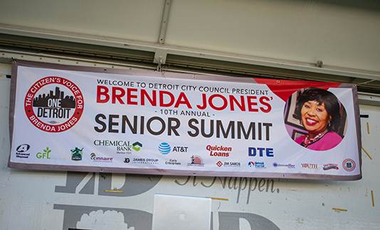 Brenda Jones 10th Annual Senior Citizen Summit