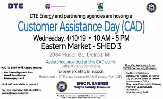 Customer Assistance Day - April 2019