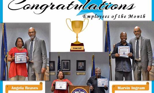 Congratulations to our Employees of the Month