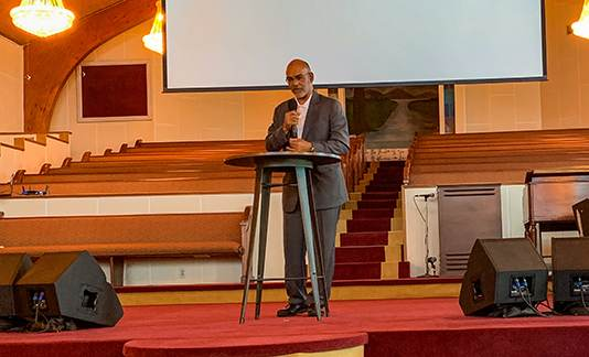 Treasurer Sabree attends International Gospel Center 2019 Economic Forum