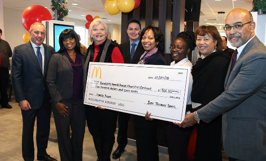 Mcdonald's Westland Grand Re-opening