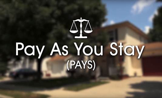 Pay As You Stay (PAYS) program video