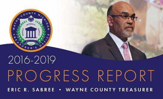 Wayne County Treasurer's Progress Report