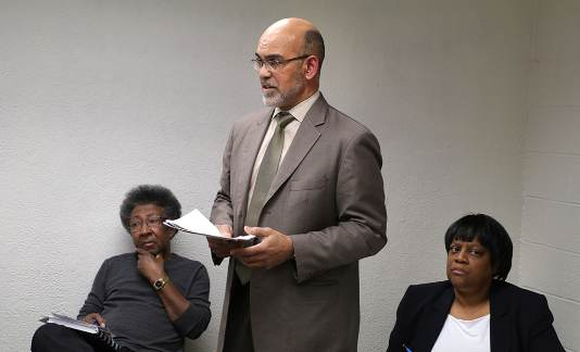Treasurer Sabree attends District 2 Community Roundtable Forum