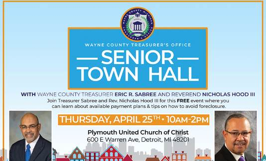 Upcoming Senior Town Hall