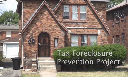 City of Detroit Tax Foreclosure Prevention Project