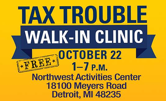 Tax Trouble Walk-In Clinic