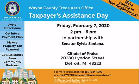 Taxpayer's Assistance Day- Citadel of Praise