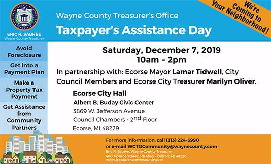 Taxpayer's Assistance Day - Ecorse, MI
