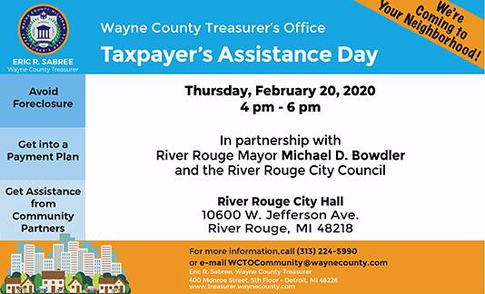 Taxpayer's Assistance Day - River Rouge