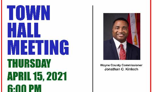 Jonathan C. Kinloch Town Hall Meeting