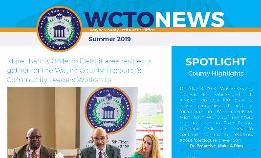 WCTO Summer Newsletter 2019