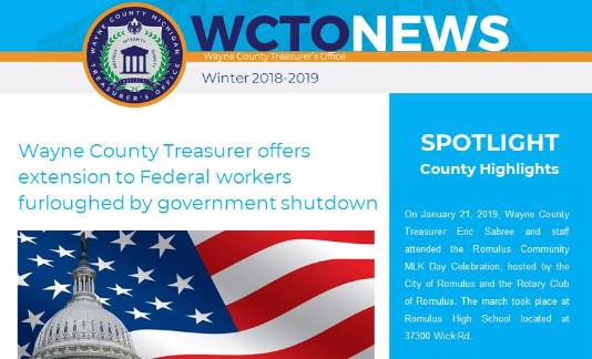 WCTO Winter Newsletter 2018-2019