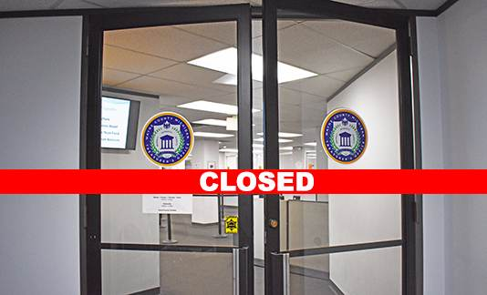 The Wayne County Treasurer's Office will close to public effective Monday, March 16