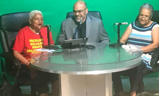 WHPR Ask Welfare Rights Show Interview with Treasurer Sabree