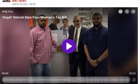 'Angel' Detroit Man Pays Tax Bill For Woman About To Lose Her Home (WWJ Newsradio 950)